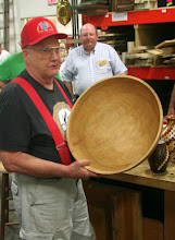 "Photo: ... his 19"" pecan salad bowl!"
