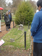 Photo: Alfred is buried next to the Jackson rotunda per his request to be buried near to Andrew