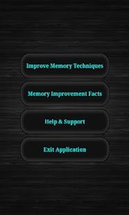 Memory Improvement - náhled