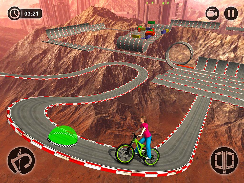 Impossible Kids Bicycle Rider - Hill Tracks Racing - Android Apps ...