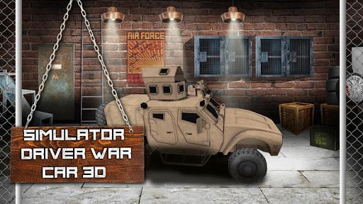 Simulatorドライバ戦争車の3D