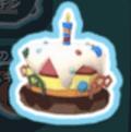 ケーキの帽子スキン