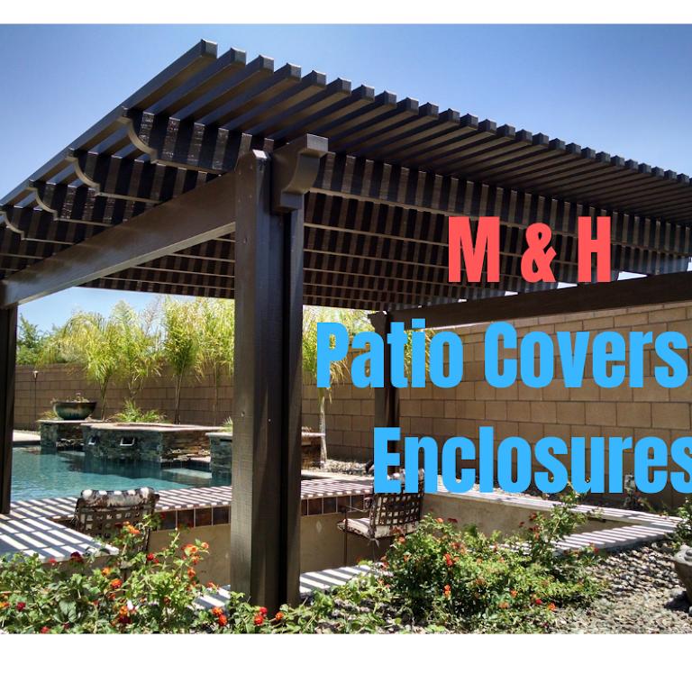 m h patio covers enclosures patio