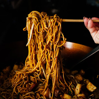 Mie Goreng/Indonesian Fried Noodle.