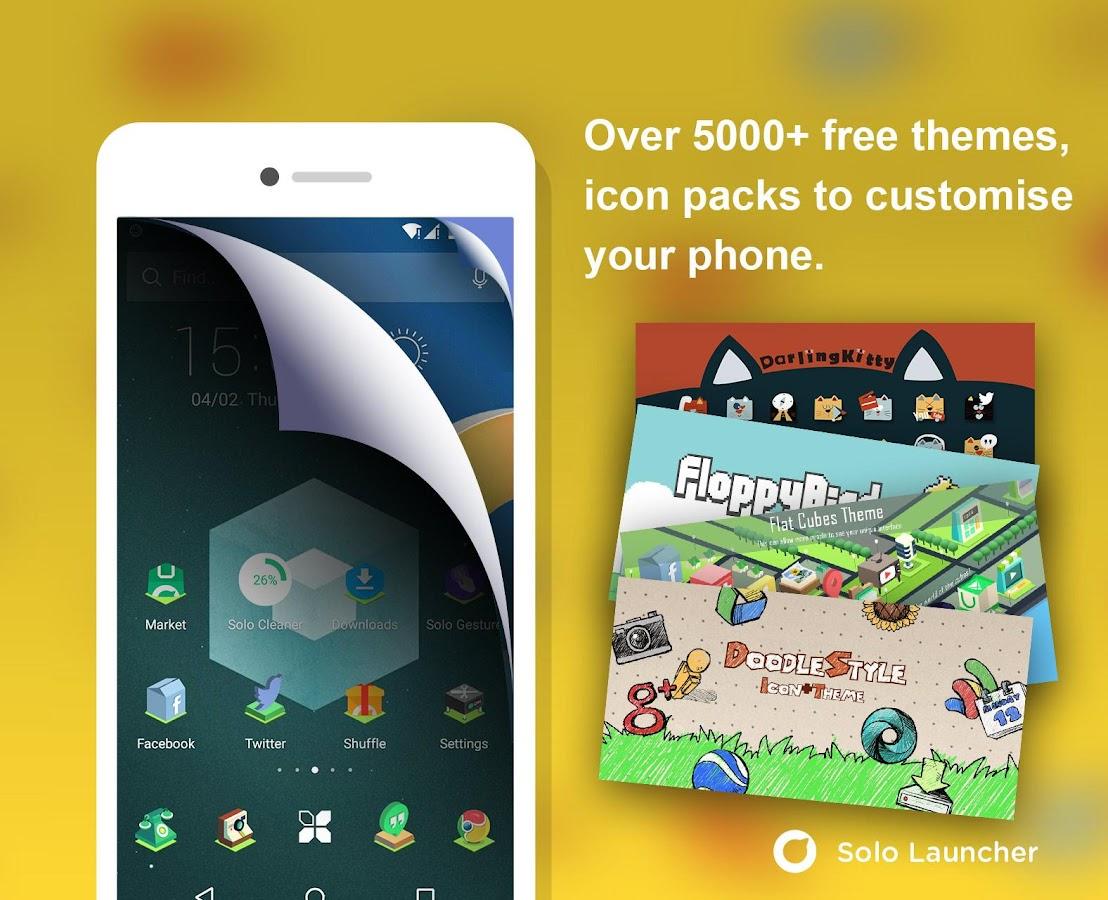 Solo Launcher-Fast,Boost,Smart - screenshot
