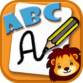 ABC calligraphy for kids