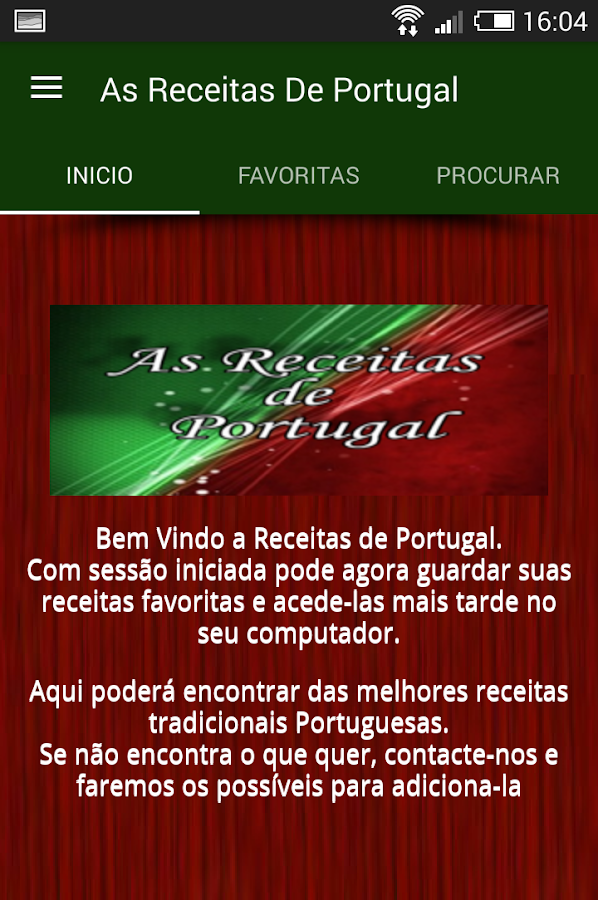 As Receitas de Portugal- screenshot