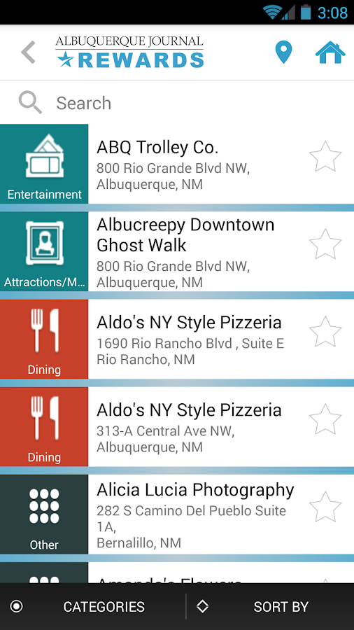 Albuquerque Journal Rewards- screenshot