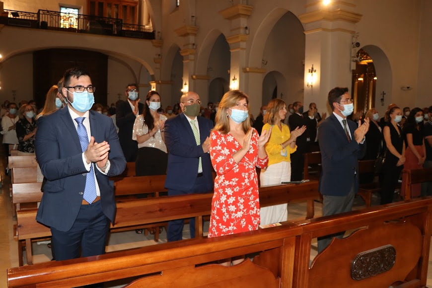 El acto ha finalizado con el himno en honor a San Isidro Labrador.