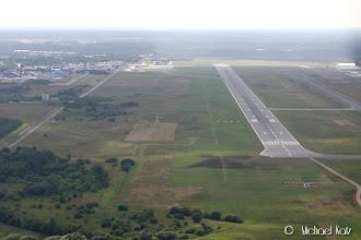 Photo: Men den ja! Ikke bare én, men hele to nedlagte flyplasser rett før Billund Lufthavn.