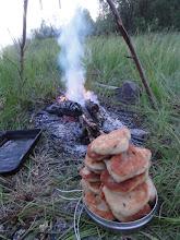 Photo: Походный хлеб. Минимум усилий - максимум удовольствия!