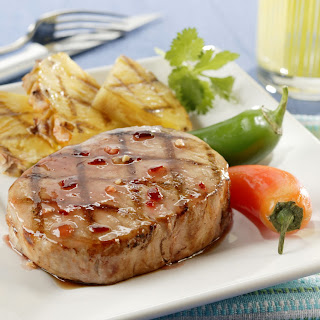 Fiery Island Pineapple Pork Chops.