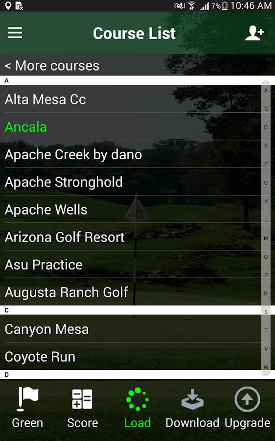 Free Golf GPS APP - FreeCaddie- screenshot