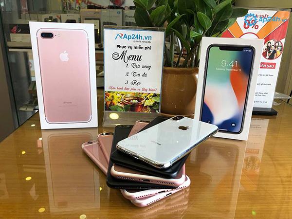 sửa chữa iPhone Thái Hà