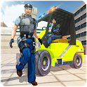Super Police Forklift Training icon