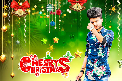 Christmas Photo Editor Frames ss2