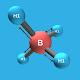 3D Molecular Ikatan Kovalen Polar & Non Polar