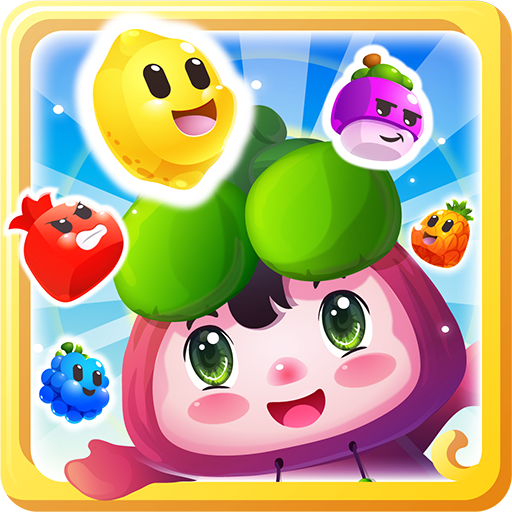 Fruit Cartoon: Juicy match 3 puzzle game