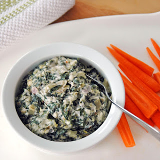 Spinach, Artichoke and Asiago Dip