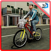 News Paper Delivery Boy Sim