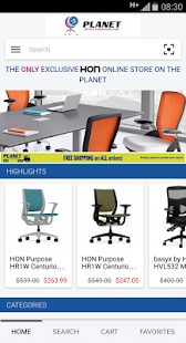 Planet Office Furniture - náhled