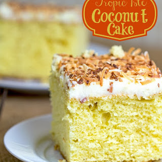 Tropic Isle Coconut Cake.