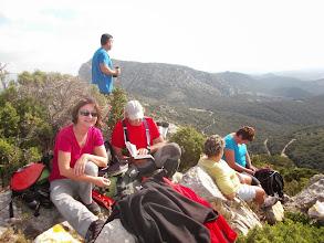 Photo: Casse-croûte au sommet