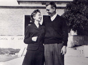 Photo: Dara and Ernest Lloyd (Zeke) Hunt about 1950s