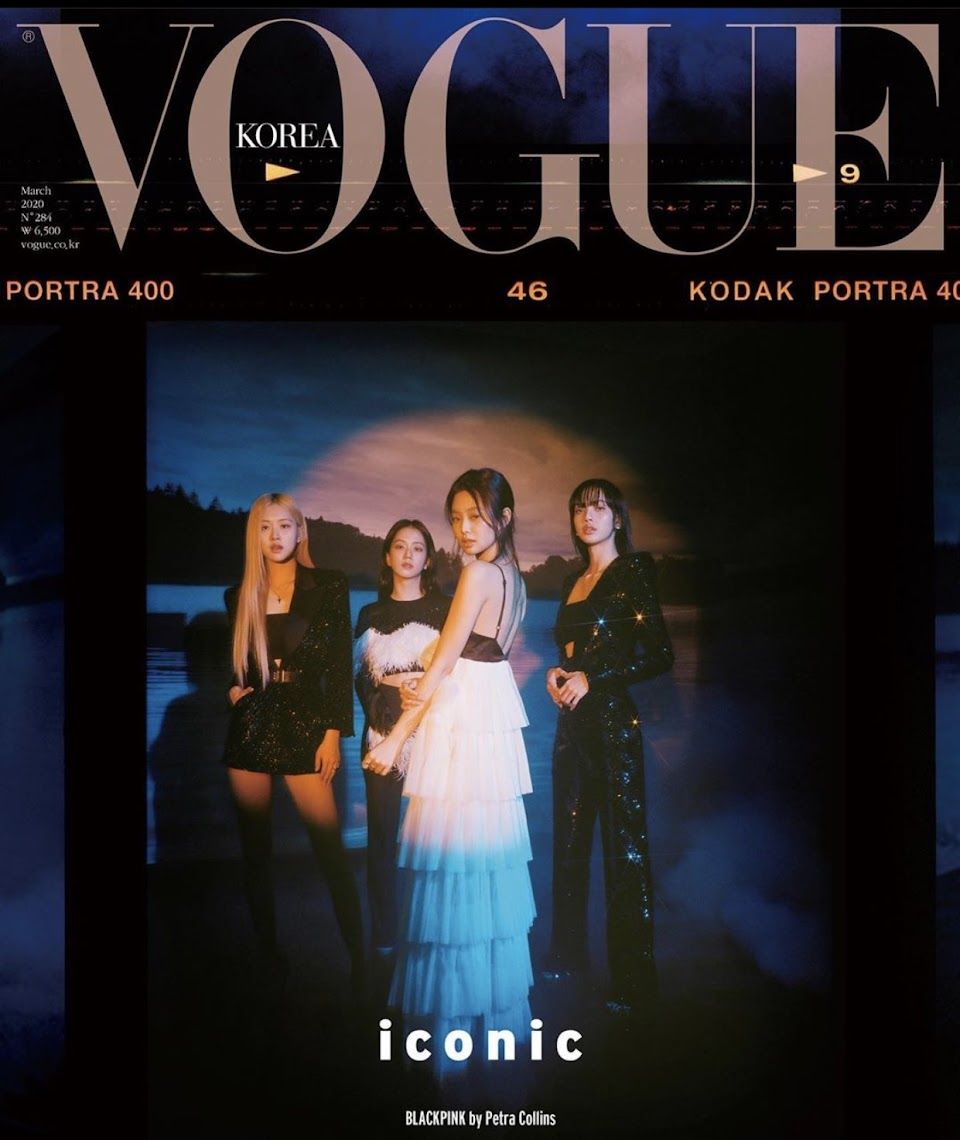 blackpink vogue korea