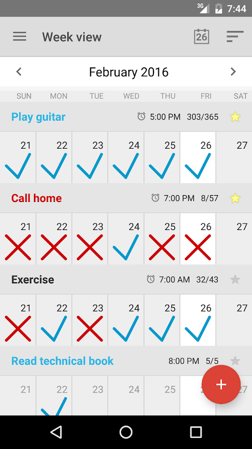 Goal Tracker & Habit List- screenshot