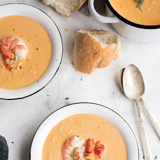 Seafood Bisque.