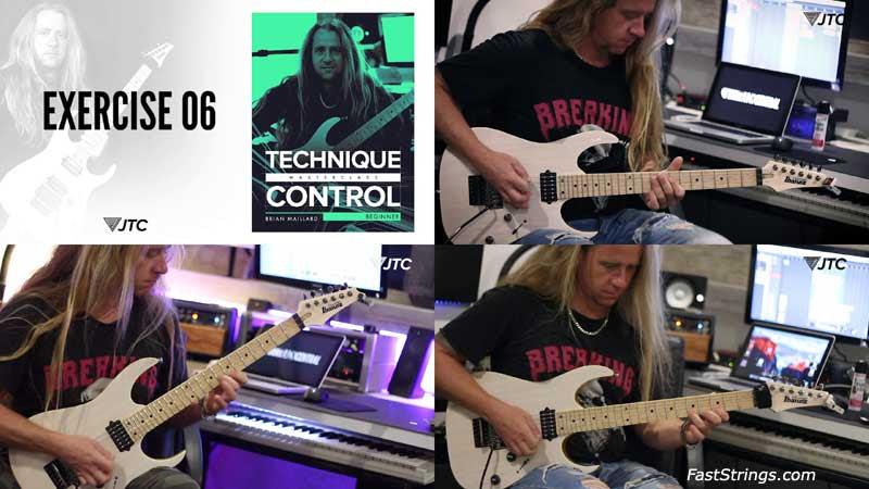 Brian Maillard - Technique Control Masterclass