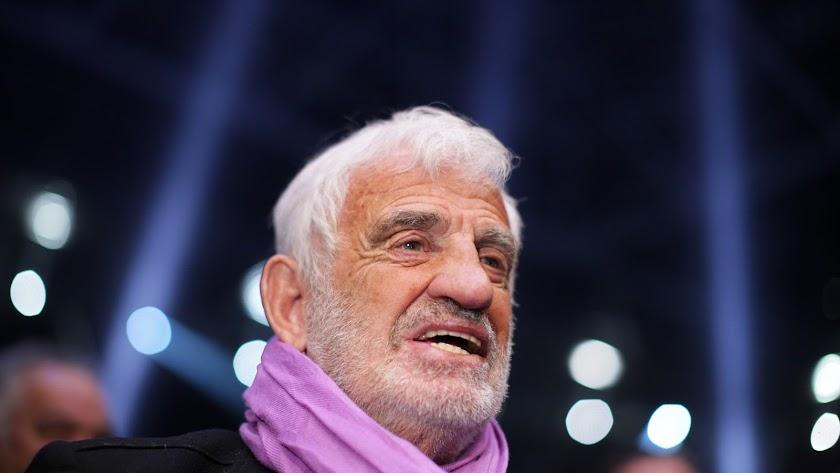Jean-Paul Belmondo, durante un acto en Düsseldorf en 2012.
