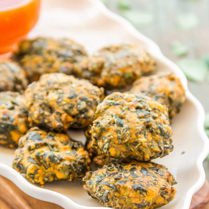 Crispy Fritters with Drumstick Leaves