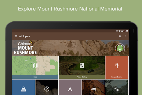 Mount Rushmore NM by Chimani- screenshot thumbnail