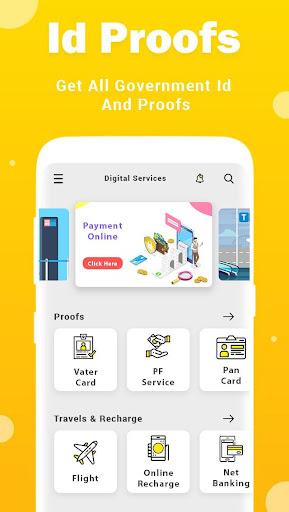 Online Seva : Digital Services India 2020 screenshot 2