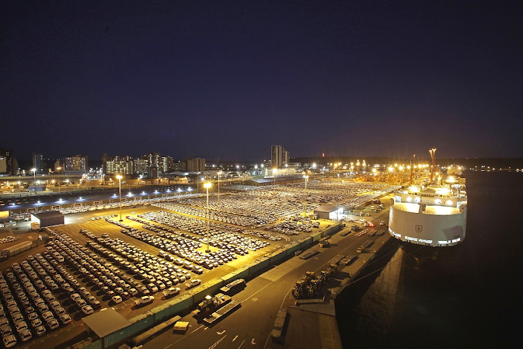Part of Durban's harbour. Picture: BLOOMBERG/KEVIN SUTHERLAND