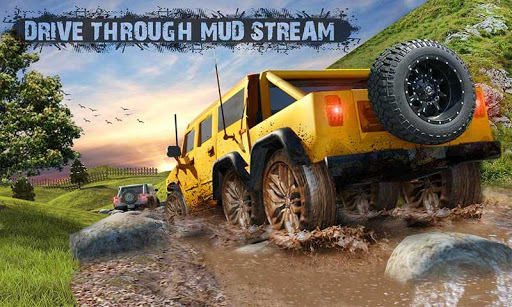 8x8 Offroad Mud Truck Spin Tires: Trucker Games 18 apktram screenshots 2