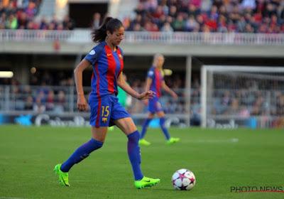 L'équipe féminine du FC Barcelone impressionne lors d'un trick shot