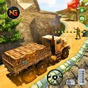US Offroad Army Truck Driving Army Vehicles Drive icon