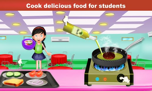 High School Mess Food Cooking – Canteen Simulator - náhled