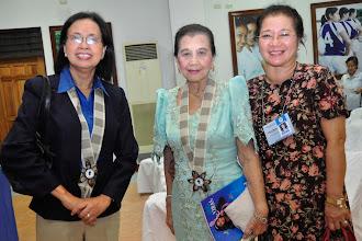 Photo: Dr. Filma Brawner, Dr. Josephine Arcilla, Prof. Rose Madulid