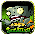 Zombies vs Soldier HD icon