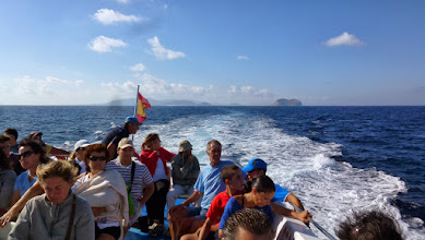Photo: Blick zurück - rechts hinten Montaña Clara