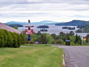 Photo: View of Mooshead Lake from Indian Hill, Maine on Route 16