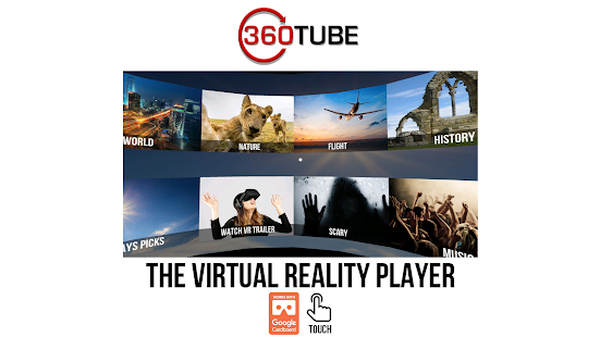 360TUBE–VR apps games & videos- screenshot thumbnail