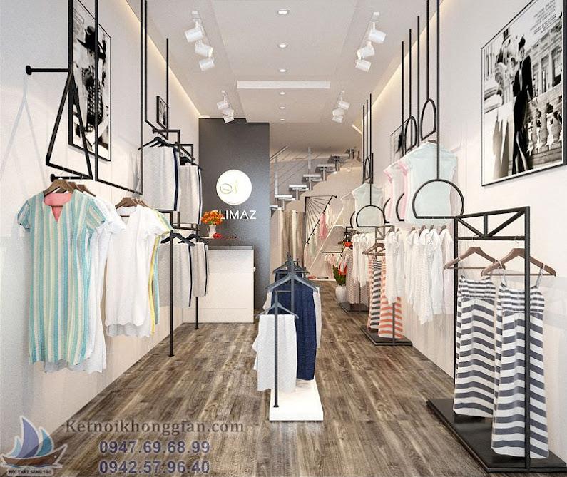 thiết kế cửa hàng thời trang đa dạng và sáng tạo