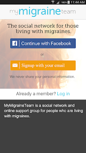 Migraine Support- screenshot thumbnail