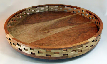 "Photo: Bob Grudberg 2"" x 18"" Lazy Susan [cherry]"