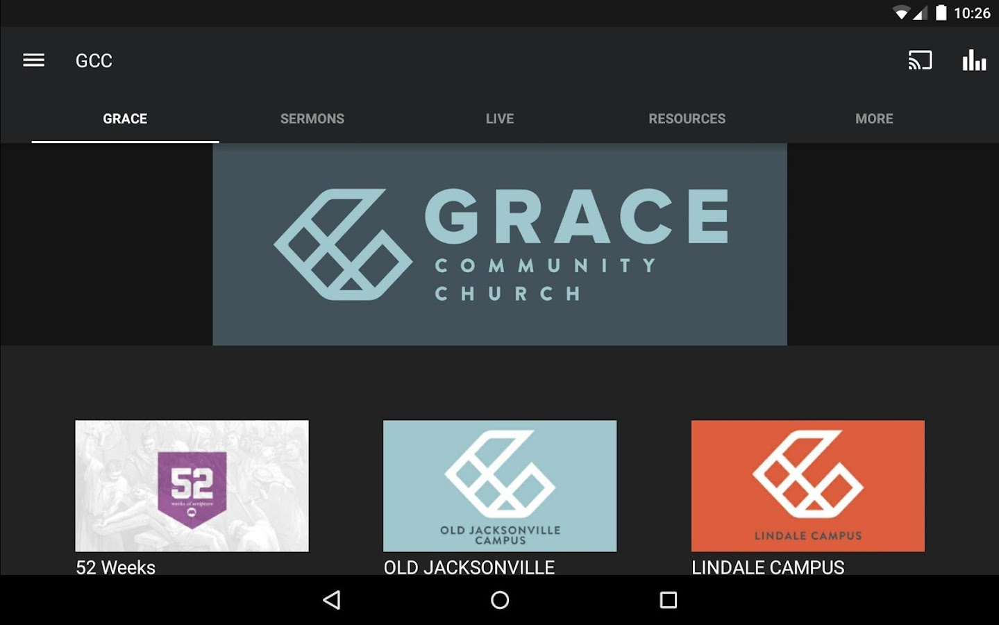 Grace Community- screenshot
